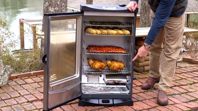 using electric smoker