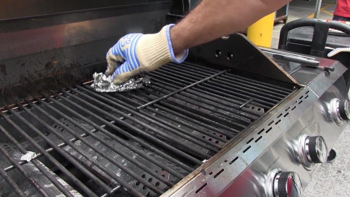 wash gas grill
