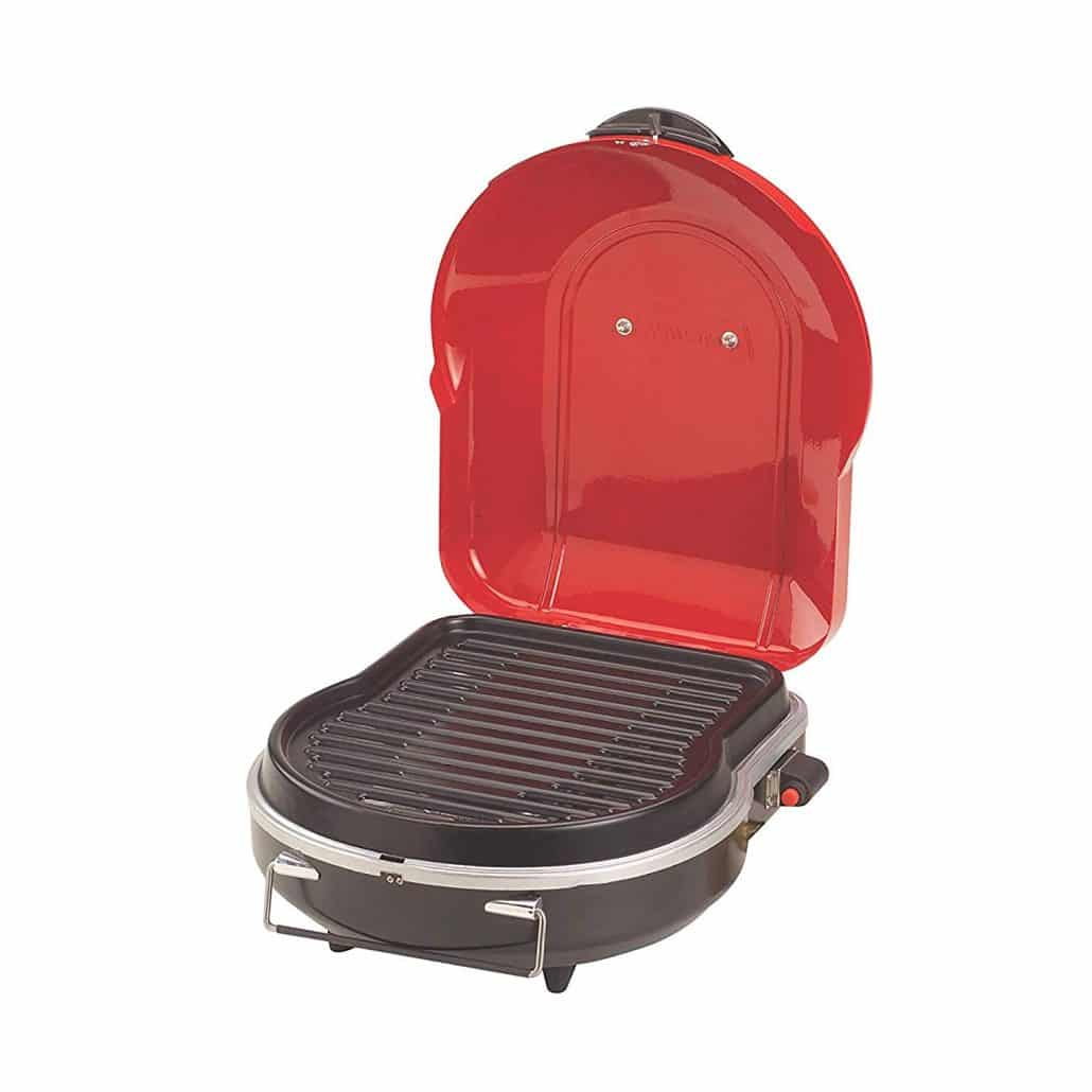 Coleman fold small gas grills