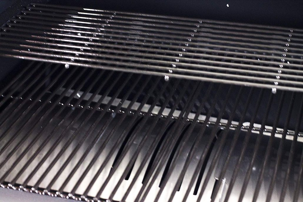large capacity of pellet grills