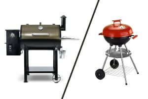 Comparing a Pellet Grill to a Charcoal Grill