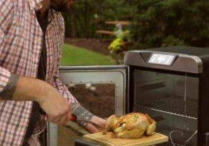 turkey in electric smoker
