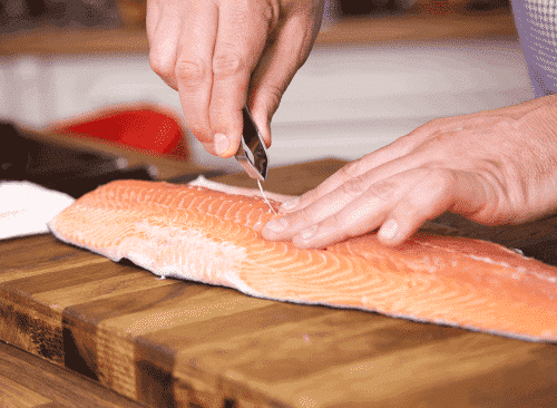 Deboning the Salmon
