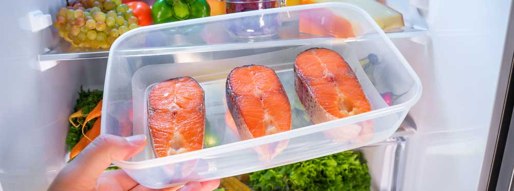 Refrigerate your Salmon