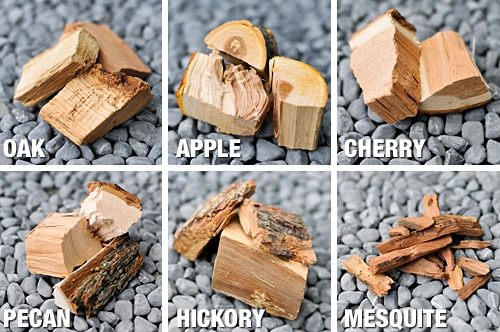 wood chips types