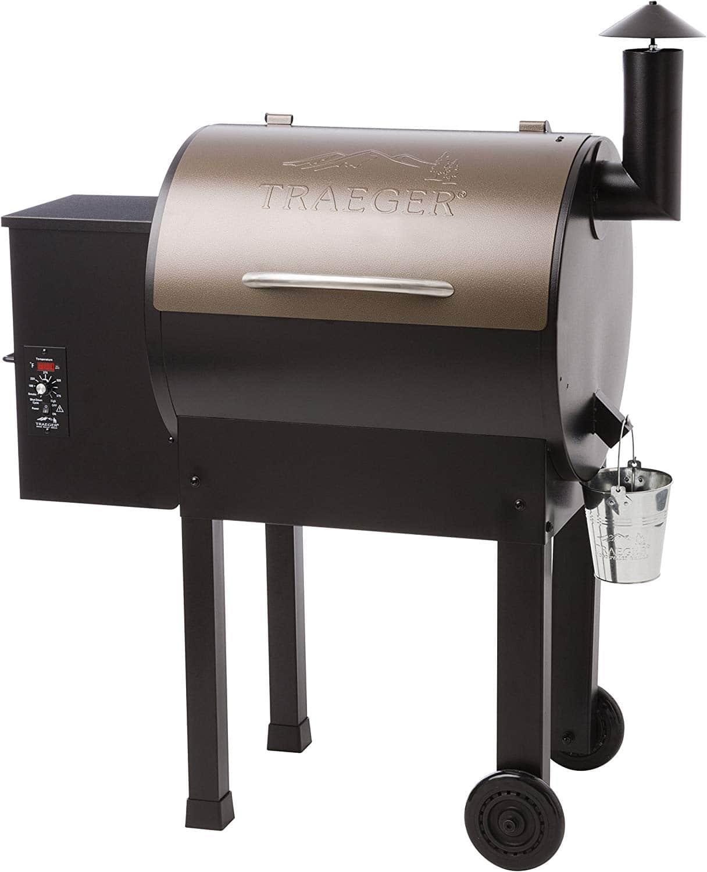 2. Traeger Grills Lil Tex Elite 22 Wood Pellet Grill