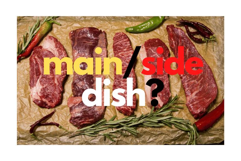 main/side dish