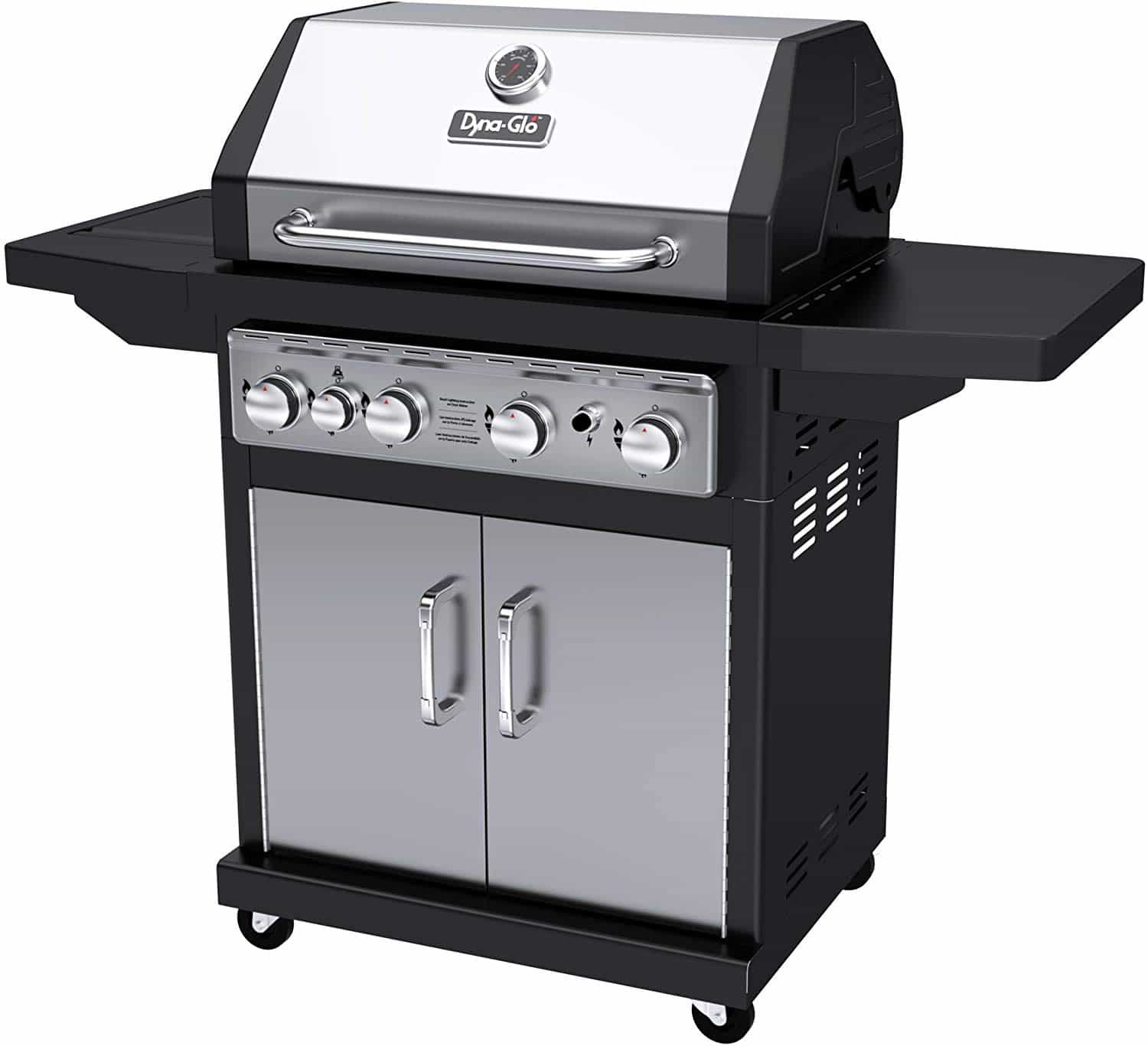 Dyna Glo Black & Stainless Premium Grills