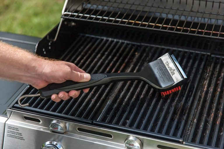clean infrared grill