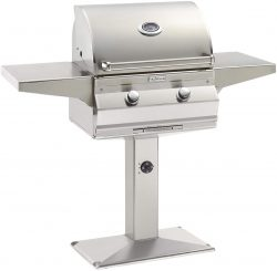 Best Choice Grill - Fire Magic Choice C430i Natural Gas Grill On Patio Post
