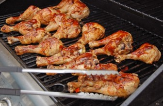 Cooking Chicken on a Gas Grill